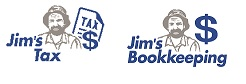 Jims Tax and bookkeeping logos